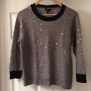 J. Crew Sequin Sweater